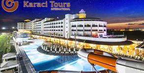 Нова година в Турция! Екскурзия до Анталия с 4 нощувки на база Ultra All Inclusive в Port River Hotel & SPA*****, плюс самолетен билет