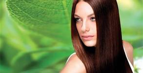 Възстановяваща терапия за коса, плюс подстригване и оформяне