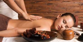 """Полинезийски релаксиращ масаж на цяло тяло """"Роза за теб"""""""