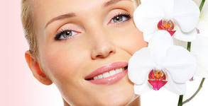 Почистване на лице с ултразвукова шпатула, плюс златна маска с anti-age ефект