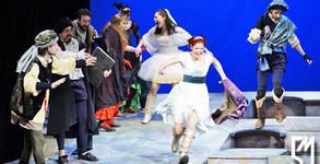 """Александра Сърчаджиева в спектакъла """"Укротяване на опърничавата"""" от Уилям Шекспир - на 22 Май"""