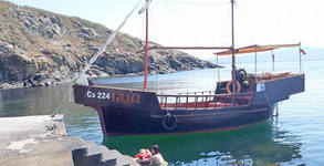С кораб до остров Свети Иван! 2 часа и половина разходка, пикник с миди, чаша бяло вино и салата