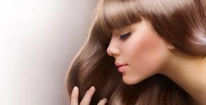 Детско подстригване или ръчно полиране на коса за премахване на нацъфтелите крайчета, плюс маска