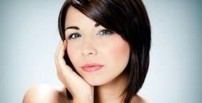 Ултразвуков пилинг на лице и хиалуронова терапия, плюс лифтинг масаж