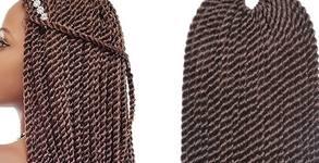 Поставяне на афро плитки или туистери, с удължение до 60см и включени материали