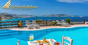 През Август на остров Миконос! 4 нощувки със закуски в Paradision Hotel 4*, плюс самолетен билет