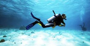 Виж подводния риф! Водолазно гмуркане с инструктаж