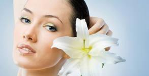 Почистване на лице с ултразвукова шпатула или диамантено микродермабразио, плюс LED фотон терапия