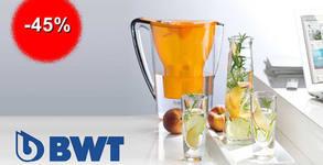 Кана за вода BWT Penguin за обогатяване на водата с магнезий и 4-степенен филтър, или филтри за нея