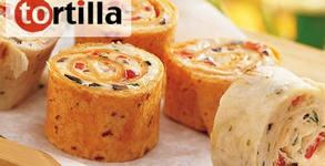 Мексикански тортила сет с 48 или 96 хапки
