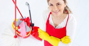 Машинно пране на до 6 седящи места мека мебел или основно почистване на дом или офис до 100кв.м