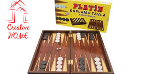 Дървена табла за игра Star Oyun