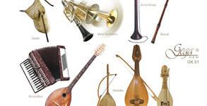 """Колекция """"Музикалните инструменти на България"""" със 7 компактдиска"""