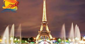 В Париж през Март! 4 нощувки със закуски, плюс самолетен транспорт и туристическа обиколка