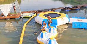 Ползване на надуваем аквапарк - семеен вход за четирима
