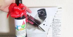 Посещение на Пощальон на любовта или Купидон - на адрес на клиента, от Парти Арт 5