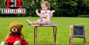 Детска фотосесия на открито с 30 обработени кадъра
