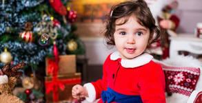Коледна фотосесия за дете - със 7 или 10 обработени кадъра