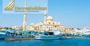 Майски празници в Египет! 7 нощувки на база All Inclusive в хотел 5* в Хургада, плюс самолетен транспорт