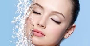 Водно дермабразио на лице, плюс кислородна терапия и маска