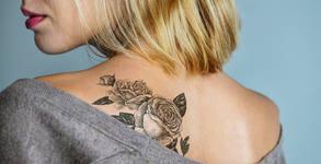 Цветна татуировка с размер до 8х8см