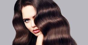 Измиване на коса с нанасяне на маска и подстригване, или кератинова терапия, плюс оформяне