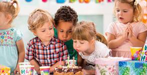 Рожден ден за до 10 деца! 3 часа забавления и анимация, почерпка и торта със снимка