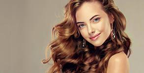 Кератинова терапия за коса или боядисване, плюс оформяне на прическа
