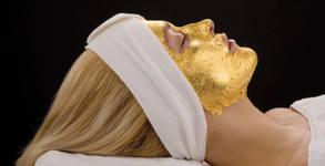 Дълбоко почистване на лице, алго маска или anti-age терапия със злато и фитохормони