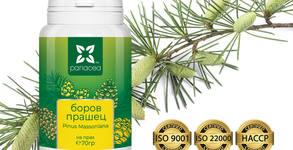 За силен имунитет и тонус! 3 опаковки Боров прашец