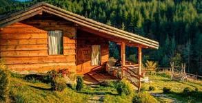 Дървената еко къща