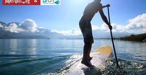Водни приключения край София или в Гърция! Обучение по Stand-up Paddleboarding, плюс видеозаснемане - за до двама
