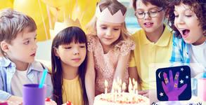 2 часа рожден ден за до 10 деца до 13г - с меню, фото торта, игри и фотограф