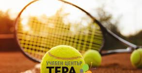 5 тренировки по тенис на корт за деца на открито