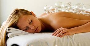 Моделиращ лимфен дренаж, плюс масаж с вендузи - на зони по избор