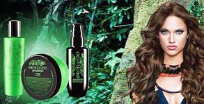 Възстановяваща терапия за суха и увредена коса Orofluido Amazonia, плюс оформяне със сешоар
