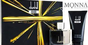 Мъжки комплект Dunhill Black - тоалетна вода и балсам за след бръснене