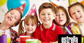 Рожден ден за до 10 деца с меню, украса и аниматор или DJ