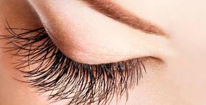 """Поставяне на мигли """"косъм по косъм"""" или на диамантени мигли, или ламиниране и подхранване"""