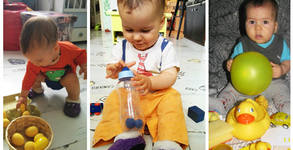 2 занимания по метода Монтесори за деца до 3г