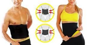 Унисекс колан Hot Shapers със сауна ефект - за отслабване и оформяне на корема и талията