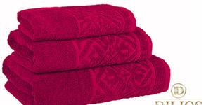 """Хавлиени кърпи """"Порто"""" от 100% памук - в цвят и размер по избор"""