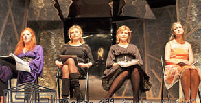 """Четири стихийни актриси с ИКАР 2016 в емблематичния спектакъл """"Театър, любов моя!"""" от Валери Петров - на 19 Май"""