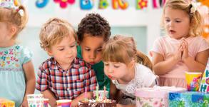 3 часа рожден ден за до 12 деца, с наем на зала, украса, почерпка и ползване на детски фитнес уреди