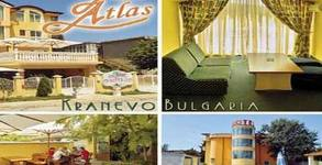 През Август и Септември в Кранево! 2, 3, 5, или 7 нощувки със закуски за двама, плюс басейн с минерална вода