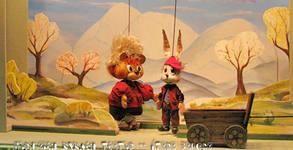"""Кукленият спектакъл """"Коледата на Мечо"""" със специален гост Дядо Коледа, на 22 Декември"""