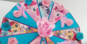 Картонена торта по индивидуален проект - с до 30 парчета