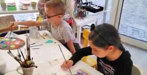 1 или 4 посещения на уроци по рисуване за деца
