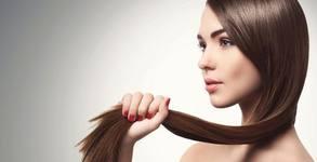 Ламиниране на коса с кератинова терапия - без или със подстригване