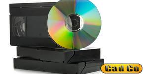 Прехвърляне на запис от касета miniDV или VHS на DVD